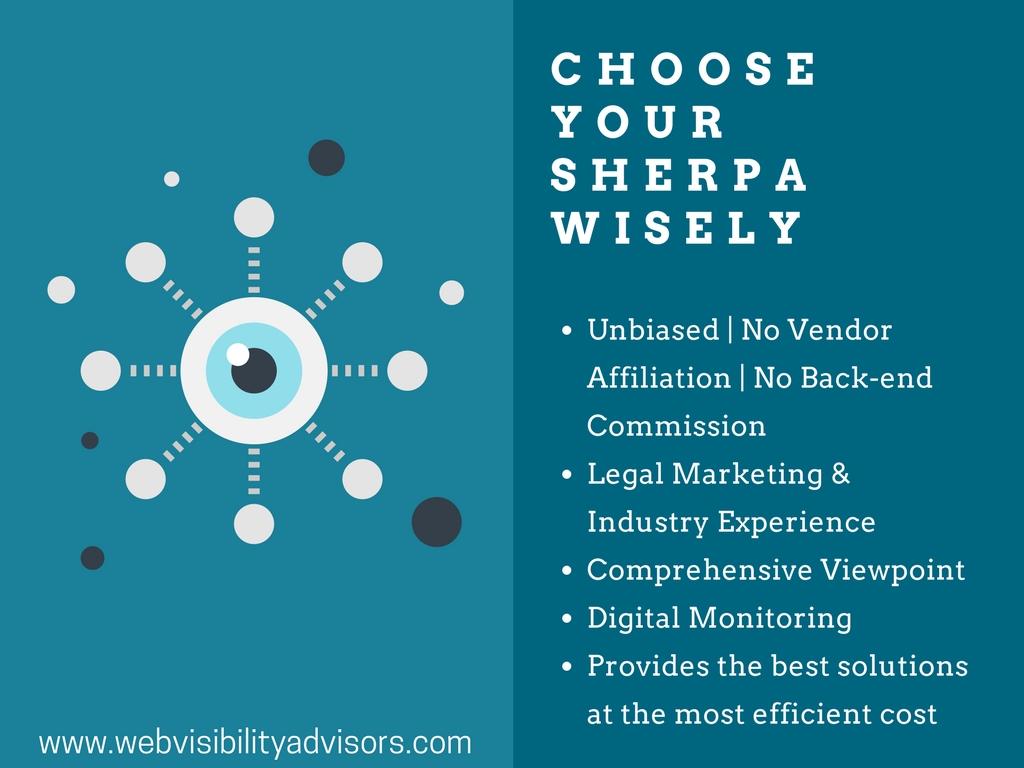 lawyer marketing sherpa, law firm marketing consultant